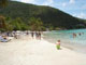 Cane Garden Bay Tortola British Virgin Islands sandy stretch