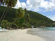 Cane Garden Bay British Virgin Island as the tourist season comes to an end